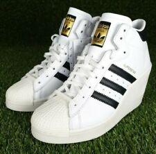 Womens adidas Originals Superstar Ellure Trainers wedge heels (FW0102)