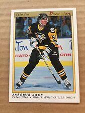 1990-91 OPC Premier #50 Jaromir Jagr RC Penguins Rookie