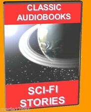 17 CLASSIC SCIENCE FICTION NOVELS MP3 GREAT UNABRIDGED AUDIO BOOKS ON PC DVD NEW