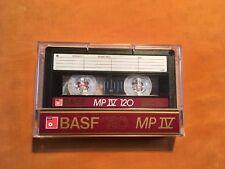 1 x BASF 120 MP IV Metal Cassette,IEC IV,guter Zustand,legendär,very rare,1985
