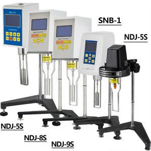 Digital Rotary Viscometer Fluidimeter Multiple Attribute 1-100000 Mpa·S Accuracy