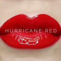 💋BRAND NEW- LipSense Hurricane Red Lip Color  🎁FREE Lip Scrub Sample