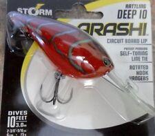 Storm Arashi Deep 10 60mm – Red Craw - Bass Cod Perch Fishing Lure