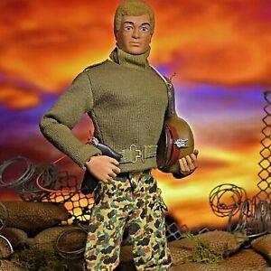 Action Man Vintage Palitoy Rare Mint SAS Talking Commander Figure Complete c1983