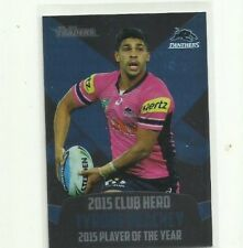 2016 NRL TRADERS PENRITH PANTHERS TYRONE PEACHEY CLUB HERO CH21 CARD