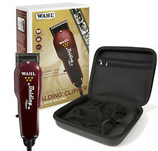 Wahl Professional 5-Star Balding Clipper #8110 with Travel Storage Case #90732 â