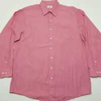 Brooks Brothers 346 Long Sleeve Button Down - Micro Striped - Red - 18~36/37