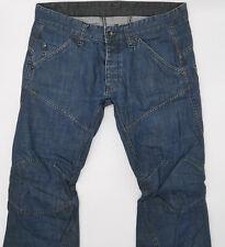 G-Star Elwood Custom Straight 5763 W34 L32 blau Herren Men Designer Denim Jeans