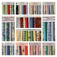 80 piece. LAURA ASHLEY FABRIC PATCHWORK QUILT KITS - WE ARE POSTING AS NORMAL!