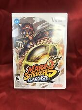 Mario Strikers Charged (Nintendo Wii, 2007) VGC CIB COMPLETE L@@K