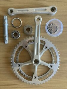 GIPIEMME DUAL SPRINT CRANKSET AND BOTTOM BRACKET. EROICA VINTAGE