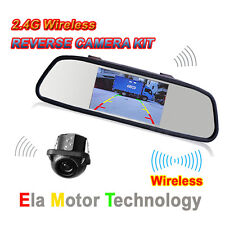 "5"" Wireless Mini Color Reverse Rear View Backup Camera Night Vision for Toyota"