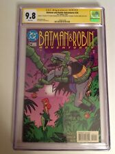 CGC 9.8 SS Batman and Robin Adventures #24 signed Kevin Conroy & Diane Pershing