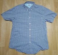 Ben Sherman Shirt Short Sleeves Casual Black Check Size XXL