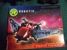 "Vintage 1984 Milton Bradley Robotix Series ""Stealth Explorers"" + parts"