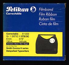 1x PELIKAN Film Ink ribbon Size 317 C Black for Smith Corona, Philips Privileg