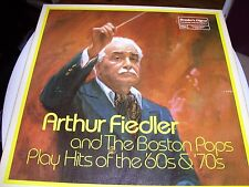 ARTHUR FIELDER & THE BOSTON POPS PLAY HITS OF THE 60'S & 70'S-5 LP BOX SET-RCA