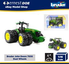 Bruder John Deere 7930 Tractor con dos ruedas 1:16 Escala Modelo 3+ años