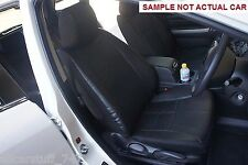 Front & Rear Leather Look Seat Cover Nissan X-Trail T31 Wagon 10/2007 to 02/2014