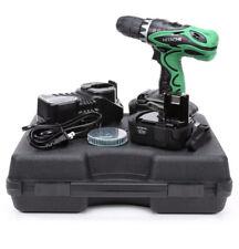 HITACHI DS18DVF3M 18V 1/2 inch NiCd Cordless 18 Volt Driver Drill Kit