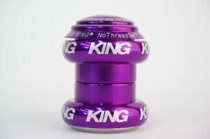 New CHRIS KING NoThread Headset 1inch Purple HSA1P from Japan Free Shipping