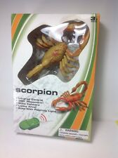 Infrared RC Scorpion. 360 Degree Motion. Looks Alive.  Eyes With Flashing Lights