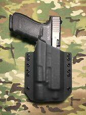 Black Kydex Holster for Glock 20 21 Threaded Barrel Surefire X300 Ultra A