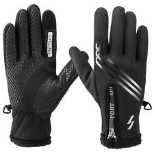 Waterproof Thermal Winter Gloves Touch Screen Warm Men Women Outdoor Ski Cycling