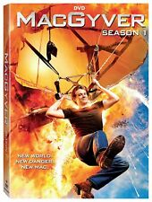 MacGyver(2016)Rebooted Action Series Season 1 One First(Dvd,2018,5-Disc Set)New