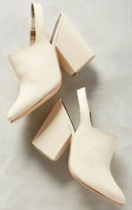 Anthropologie by Rachel Comey Kai Slingbacks Shoes Size 6 Cream MSRP $438