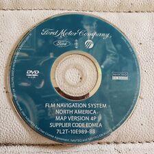 2005 2006 2007 Ford Motor Navigation DVD  Map Version 4P