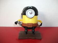 15.9.26.20 Figurine Les Minions pirate Moi moche et méchant Mc Donald