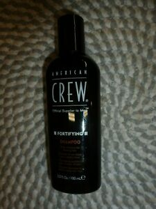 AMERICAN CREW~~DAILY SHAMPOO FOR THINNING HAIR~FORTIFYING SHAMPOO 3.3 TRIAL SIZE