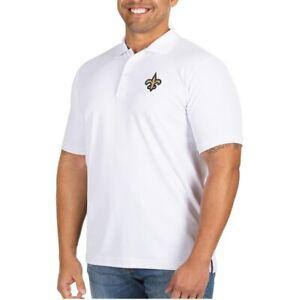 NFL New Orleans Saints Men's Legacy Pique Polo Shirt # Medium