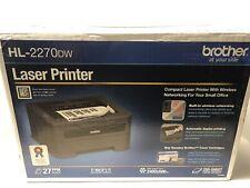 NEW (Factory Sealed) Brother HL-2270DW Networkable Laser Printer - Black - NIB