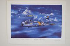 "Air Force Association - Anniversary Art Print ""Beautious Butch"""