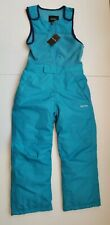 stevies  S/P snow pants suit for kids  girls with pockets. Aqua. Small.