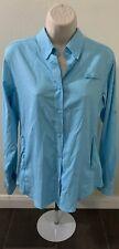 Columbia Sportswear Company Long Sleeve Shirt Breathable Blue Women Size Small