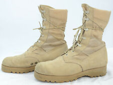 Wellco USA Mens Sz 8 W Jump Leather Suede Desert Military Army Work Boots