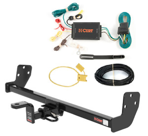 Curt Class 1 Trailer Hitch & Wiring  w/ Old-Style Ball Mount for Prizm Sedan