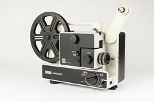Eumig 605D Cine Projector.  Dual 8.  Zoom Lens.  Good Working Condition + Accs.
