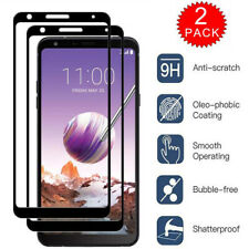 2x Full Coverage Tempered Glass Screen Protector For LG Stylo 4 5 Plus Stylus