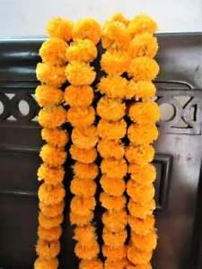 Wholesale lot 200 Pc hanging Mango Garland Indien Marigold flower Wall Décor