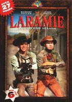 Laramie: The Complete Second Season (Season 2) (6 Disc) DVD NEW