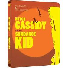 Butch Cassidy And The Sundance Kid (Blu-Ray) Limited Edition Steelbook Zone Abc!