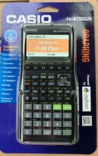 Casio fx-9750GIII Black Graphing Calculator **Brand New**Factory Sealed**