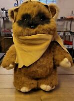 "Vintage Star Wars WICKET 15"" Plush Ewok Stuffed Animal Toy - 1983 Kenner RotJ"