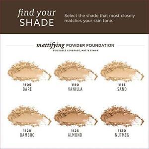 Burt's Bees 100% Natural Mattifying Powder Foundation ~ Choose From 6 Shades