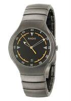 NWT! RADO True Men's Quartz Ceramic Swiss Date Watch R27675152 R$1200 WOW!!