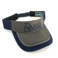 Daniel Defense Sun Visor Hat Cap Blue Gray One Size Professional Shooter